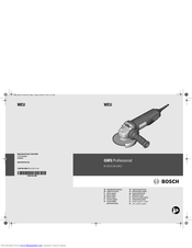 Bosch 10-125 Z Original Instructions Manual