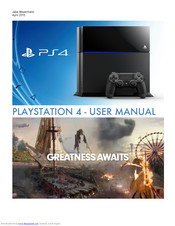 Playstation Ps4 User Manual Pdf Download Manualslib