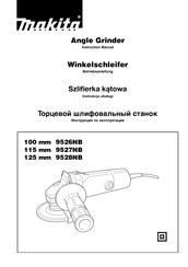 Makita 100 mm 9526NB Instruction Manual