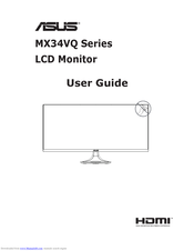 Asus MX32VQ Series User Manual