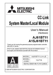 Mitsubishi Electric A1SJ61BT11 User Manual