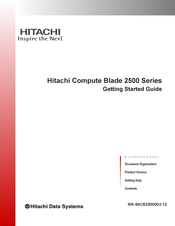 Hitachi Compute Blade 2500 Getting Started Manual