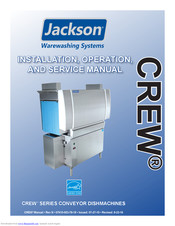 JACKSON CREW SERIES INSTALLATION, OPERATION AND SERVICE ... on