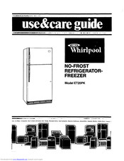 Whirlpool ET20PK Use And Care Manual