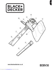 Black & Decker BDBV30 User Manual