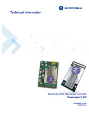 Motorola G30 Technical Information