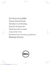 Dell Networking S5000 Getting Started Manual