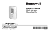 Honeywell PRO 2000 TH2110D Operating Manual Set