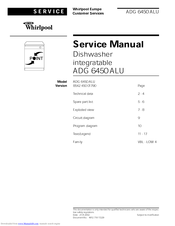 Whirlpool ADG 6450 ALU Service Manual