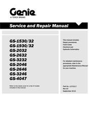 genie gs 2632 service manual