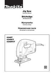 Makita 4340T Instruction Manual