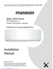 Pioneer Mini Split Wiring Diagram from data2.manualslib.com