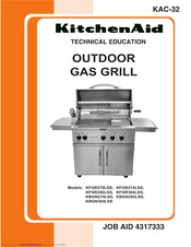 KitchenAid KFGR292LSS Technical Education