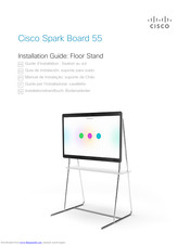 Cisco Spark Board 55 Installation Manual