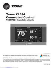 Trane Tcont824 Installation Manual Pdf Download Manualslib