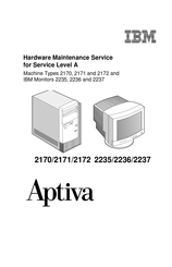 IBM Aptiva 2172 Hardware Maintenance Service Manual