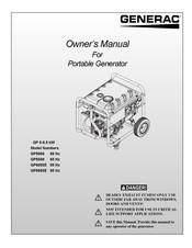 Generac power systems GP5000 GP SERIES Manuals   ManualsLibManualsLib