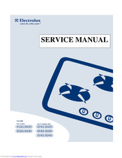 Electrolux EGG 9430 Service Manual