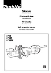 Makita 3708FC Instruction Manual