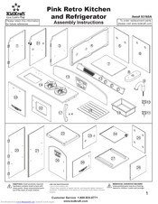 KIDKRAFT 53160A ASSEMBLY INSTRUCTIONS MANUAL Pdf Download.