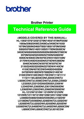 Brother HL-2600CN Series Technical Reference Manual