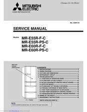 [SCHEMATICS_48YU]  MITSUBISHI ELECTRIC MR-E55R-F-C SERVICE MANUAL Pdf Download | ManualsLib | Wiring Diagram Refrigerator Mitsubishi |  | ManualsLib
