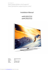 Philips **HFL5011T/12 Installation Manual