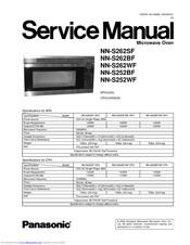 Panasonic Nns262wf Microwave Oven Otr