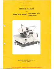Brother EF4-B561 Service Manual