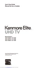 Kenmore 348.71395610 Use & Care Manual
