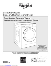 Whirlpool W10856086A Use & Care Manual