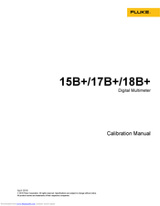 Fluke 15B Calibration Manual