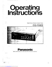 Panasonic CQ-F50EE Operating Instructions Manual