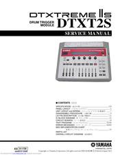 Yamaha Dtxt2s Manuals Manualslib