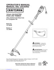 Craftsman 151.30438 Operator's Manual