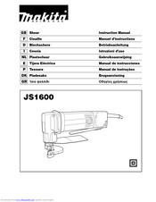 Makita JS1600 Instruction Manual