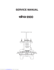 ELNA 9900 - LEAFLET Service Manual