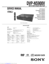 Sony RMT-D140P Service Manual