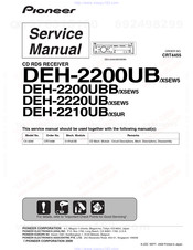Pioneer Deh 2200ub Service Manual Pdf