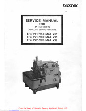 Brother MA4-V61 Service Manual