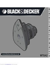 Black & Decker MTSA2 Original Instructions Manual