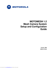Motorola MOTOMESH 1.2 Setup And Configuration Manual
