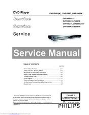 Philips DVP5986K/93 Service Manual