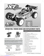 xtm racing xt2 operation, tuning manual and replacement parts pdf download  | manualslib  manualslib