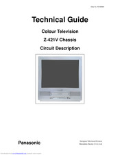 Panasonic Z-421V Technical Manual