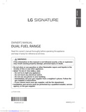 LG LUTD4919SN Owner's Manual