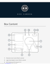 Nokia OZO camera Manual