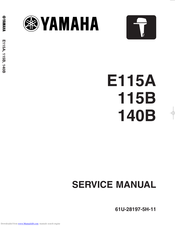 Yamaha 115B Service Manual