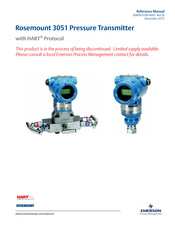EMERSON ROSEMOUNT 3051 REFERENCE MANUAL Pdf Download | ManualsLibManualsLib