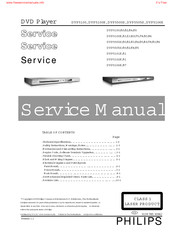Philips DVP5100K/69 Service Manual